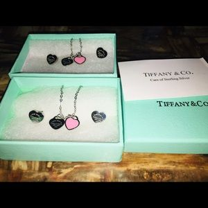 Tiffany sets comes with necklaces and earrings